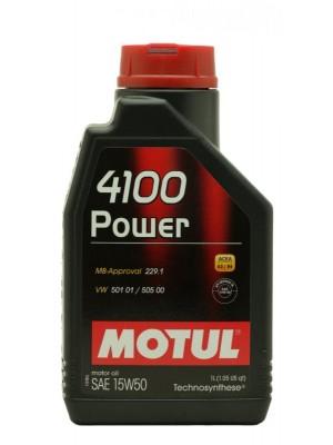 Motul 4100 Power 15W-50 Motoröl 1l