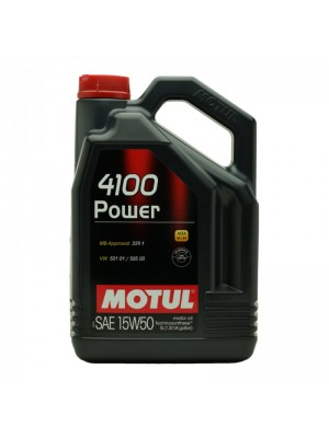 Motul 4100 Power 15W-50 Motoröl 5l