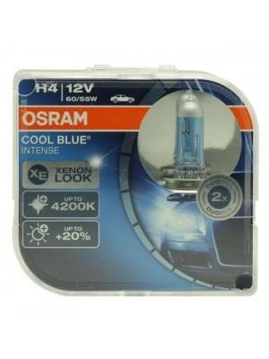 Osram H4 12V 60/55W P43t COOL BLUE Intense 2st. Osram