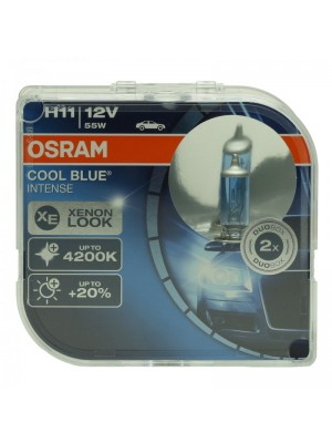Osram H11 12V 55W PGJ19-2 Cool Blue INTENSE 2st. Osram