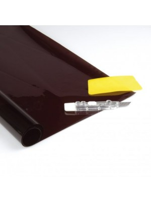Unitec Tönungsfolie Komplettset 75x152+50x152cm schwarz ABG