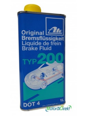 ATE Original Bremsflüssigkeit Typ 200 DOT 4 - 1 Liter