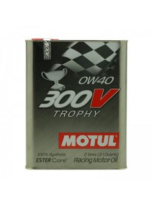 Motul 300V Trophy 0W-40 Racing Motoröl 2l
