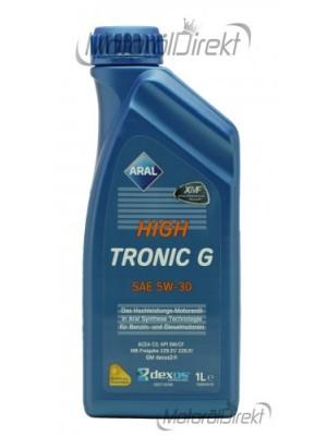 Aral High Tronic G 5W-30 Motoröl 1l