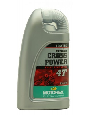 MOTOREX 4T Cross Power SAE 10W-50 Motorrad Motoröl 1l