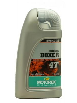 MOTOREX 4T Boxer SAE 5W-40 Motorrad Motoröl 1l