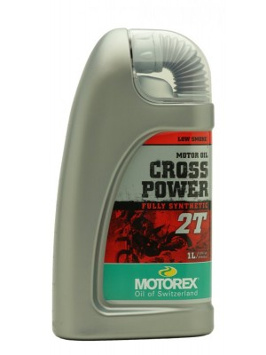 MOTOREX Cross Power 2T vollsynthetisches Motorrad Motoröl 1l