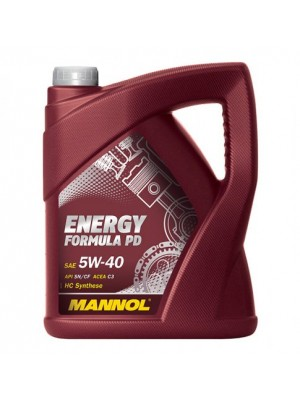 MANNOL Energy Formula PD 5W-40 Motoröl 5l