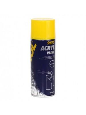 Mannol Acryl Paint chrome 450ml
