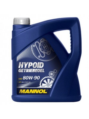 MANNOL Hypoid Getriebeöl 80W-90 API GL 4/GL 5 LS 4l