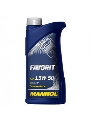 MANNOL Favorit 15W-50 1l