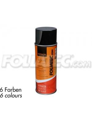 Foliatec INTERIOR Color Spray, schwarz glänzend 400ml