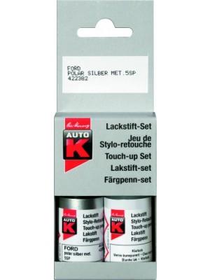 Auto-K Lackstift-Set VW reflexsilber metallic LA7W