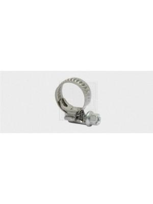 Schlauchschelle Breite 7,5 mm, 7,5/8-12mm, Edelstahl A2 / Stahl 2Stk.