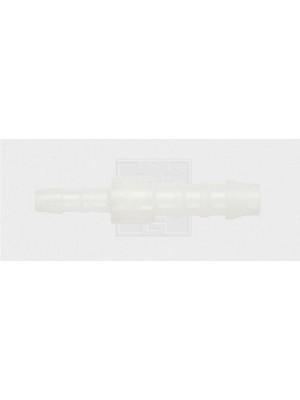 Schlauchverbinder gerader Reduzierstutzen 6 / 4 mm, Kunststoff 1Stk.