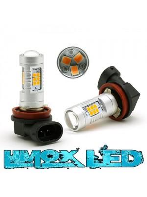 LED Nebelscheinwerfer Birne Lampe H8 4G Orange