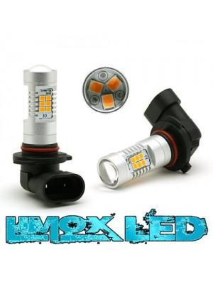 LED Nebelscheinwerfer Birne Lampe H10 4G Orange