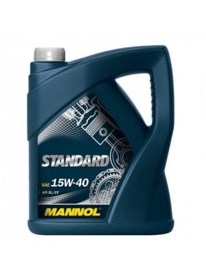 Mannol Standard 15W-40 Motoröl 5l