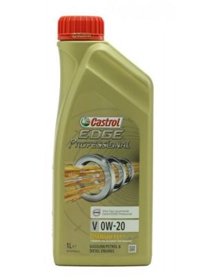 Castrol Edge Professional Titanium FST V 0W20 Motoröl 1l