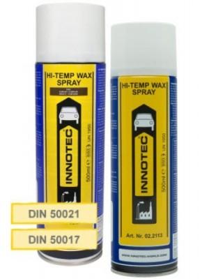 Innotec Unterboden- & Hohlraumschutz | Hi-Temp Wax - Spray - Schwarz (6100) 500ml