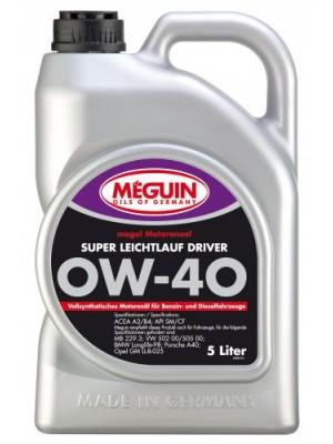 Meguin megol 4895 Motoröl Super Leichtlauf Driver SAE 0W-40 5l