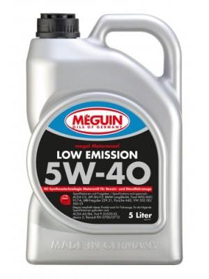 Meguin megol 6574 Motoröl Low Emission SAE 5W-40 5l