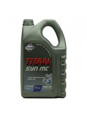 Fuchs TITAN SYN MC SAE 10W-40 Diesel & Benziner Motoröl 5Liter