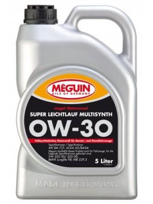 Meguin megol 6301 Motoröl Super Leichtlauf Multisynth SAE 0W-30 5l