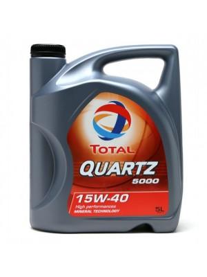Total QUARTZ 5000 15W-40 Motoröl 5l