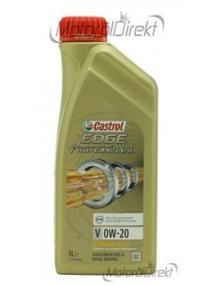 Castrol Edge V 0W-20 Motoröl 1l