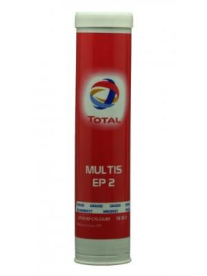 Total Multis EP 2 Mehrzweck-Hochdruckfett (EP-Lithium/Calcium-Schmierfette | MB 267.0) Braun 400g