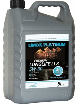 LIMOX Platinum Longlife LL3 5W-30 Motoröl 5Liter