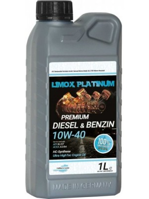 LIMOX Platinum Diesel & Benzin 10W-40 Motoröl 1Liter