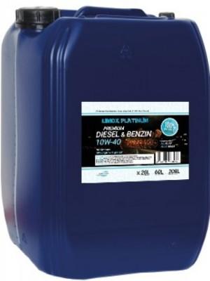 LIMOX Platinum Diesel & Benzin 10W-40 Motoröl 20Liter Kanister