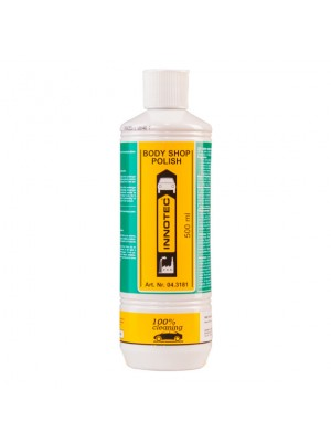 Innotec Body Shop Polish Silikonfreie Schleifpolitur (Grün) 500 ml