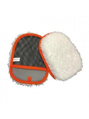 """CarPro - Hand Wash Microfiber Wash Mitt (""""Swirl-freie"""" Reinigung für empfindliche Oberflächen)"""