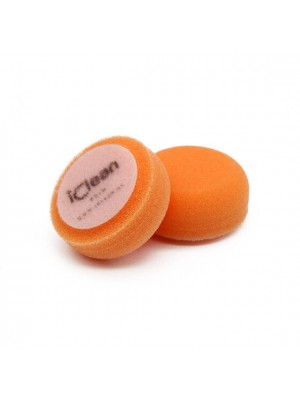 iclean iPolish – Fine Cut Pad Orange 45mm (2 Pack) (neueste Generation unseres Fine Cut Polier-Pads)