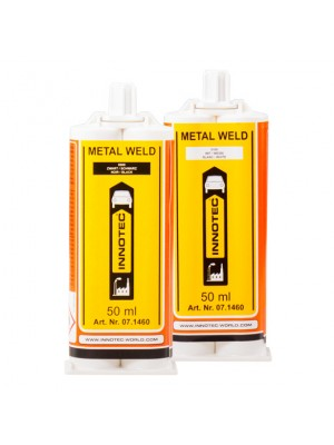 Innotec Metal Weld 2K-Metallkleber 50 ml Schwarz