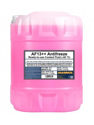 MANNOL Kühlerfrostschutz AF13++ Fertigmischung (- 40°C) 20L