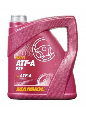 MANNOL 8203 ATF-A PSF Power steering fluid 4L