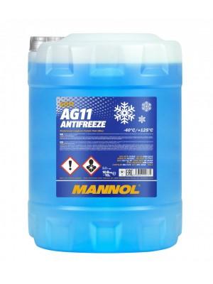 Mannol Kühlerfrostschutz Antifreeze AG11 -40 longterm Fertigmischung 10l Kanister