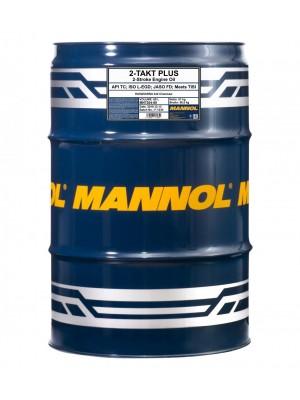 MANNOL 2-Takt Plus teilsynthetisches Motorrad Motoröl 60l