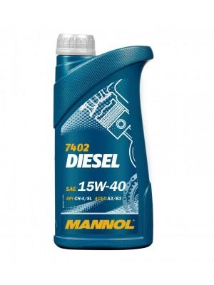 MANNOL Diesel 15W-40 Motoröl 1l
