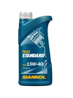 Mannol Standard 15W-40 Motoröl 1l
