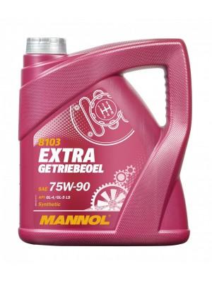 MANNOL Extra Getriebeoel 75W-90 API GL 4/GL 5 LS 4l