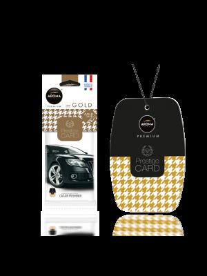 Aroma Car Lufterfrischer Prestige Card Gold