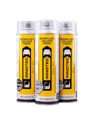 Innotec Repaplast Colour Finish Better Care Kunststofflack 500 ml schwarz