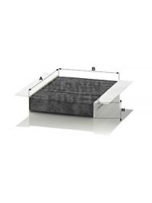 MANN-FILTER CUK 1820-2 - Filter, Innenraumluft - adsotop
