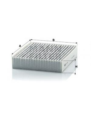 MANN-FILTER CUK 1830 - Filter, Innenraumluft - adsotop
