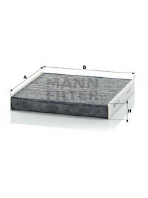 MANN-FILTER CUK 2245 - Filter, Innenraumluft - adsotop